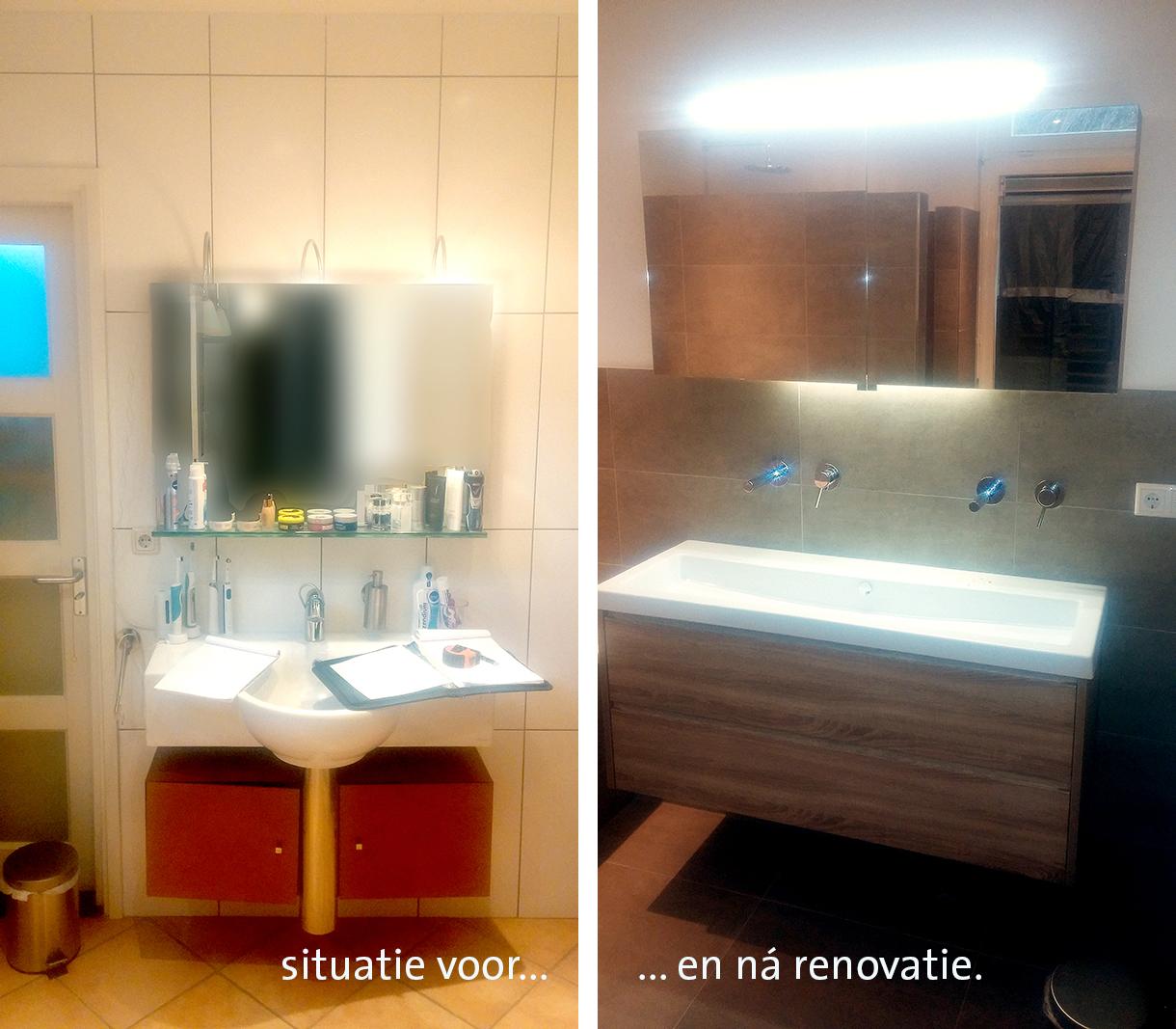 Badkamer renovatie van BlomTotaalBouw: betaalbaar, zonder zorgen
