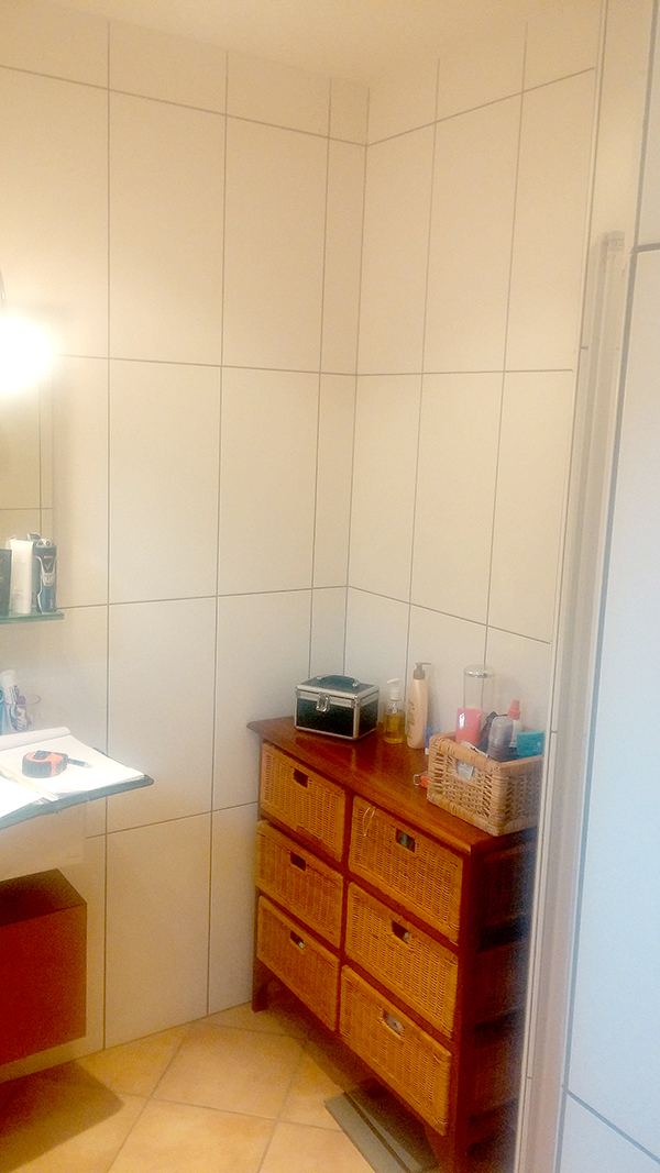 badkamer blomtotaalbouw: voor / na